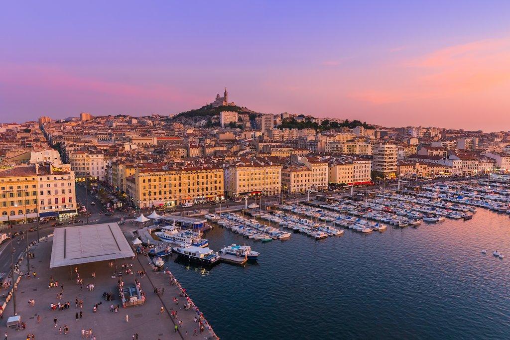 Vieux-Port, Marseille, France