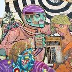 The street art of Valparaiso