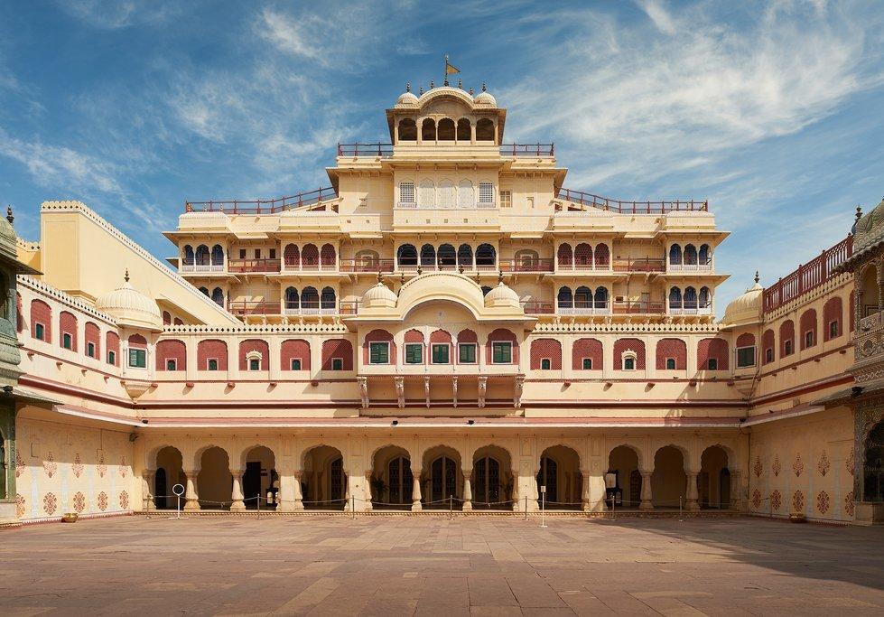 The Jaipur City Palace