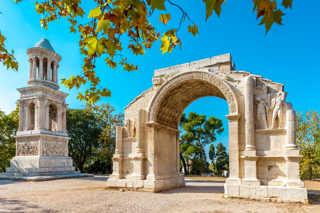 Monuments in Provence