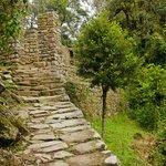 Inca Trail at Intipunku