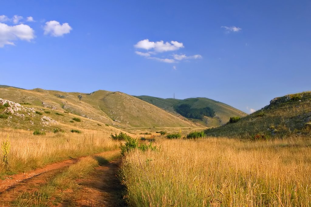 Galichica National Park in Macedonia