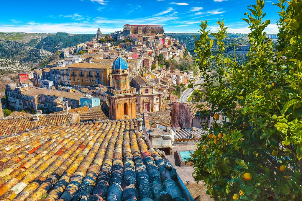 The Colorful Rooftops of Ragusa