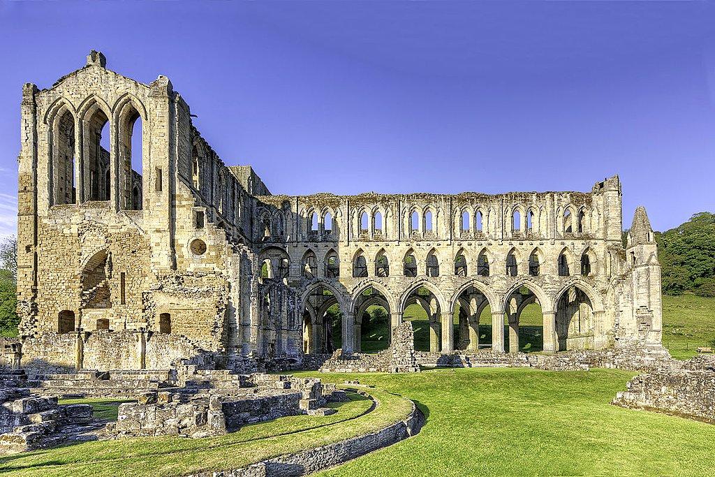 Ruins of the Rievaulx Abbey