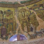 Mosaic work inside the Rotunda