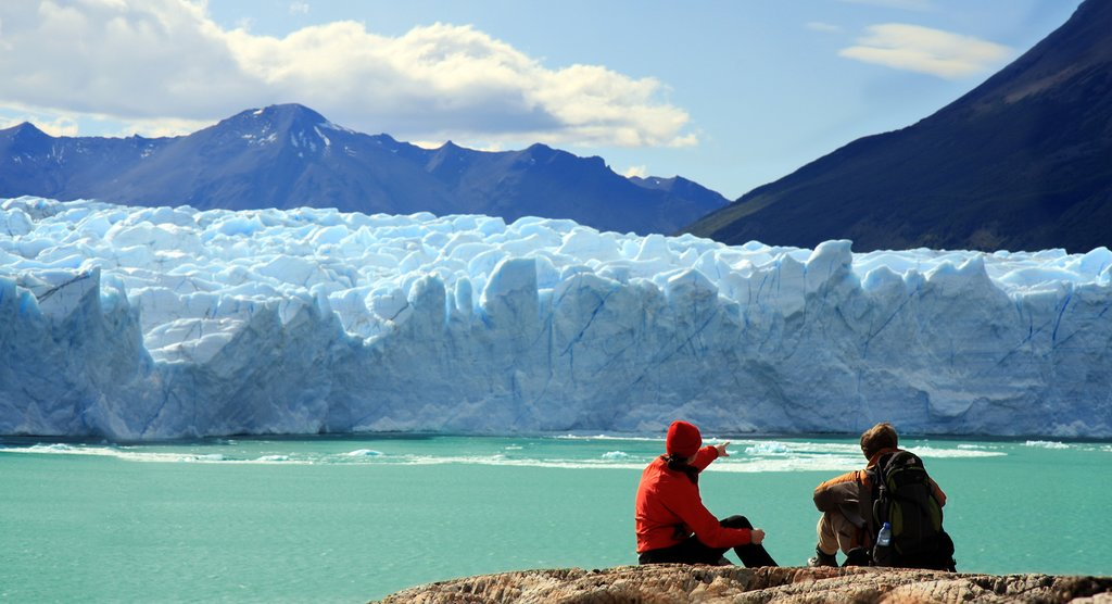 Enjoy the views of Perito Moreno