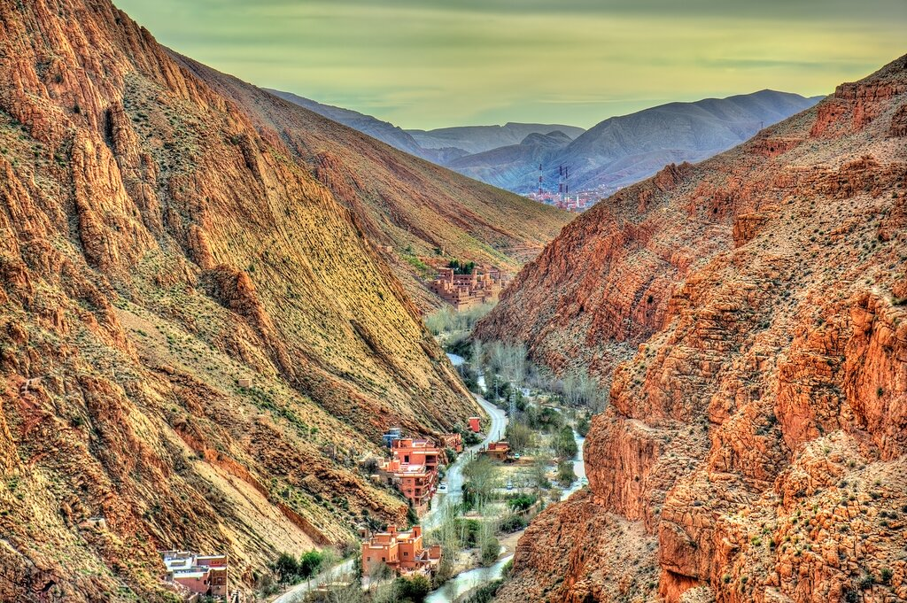 Dades Valley in the High Atlas