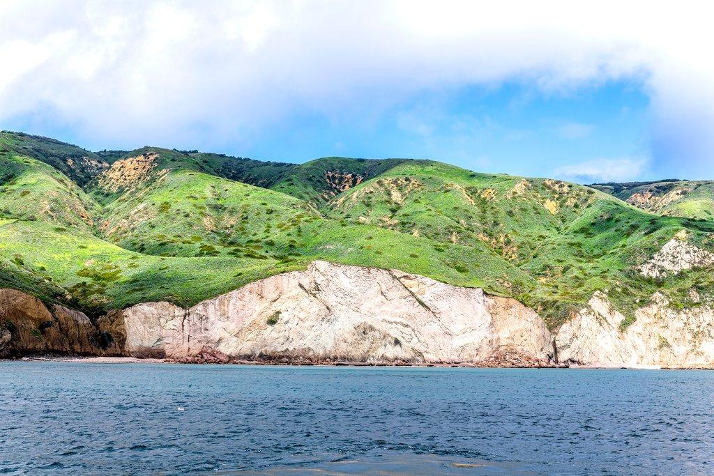 Santa Cruz Island in spring