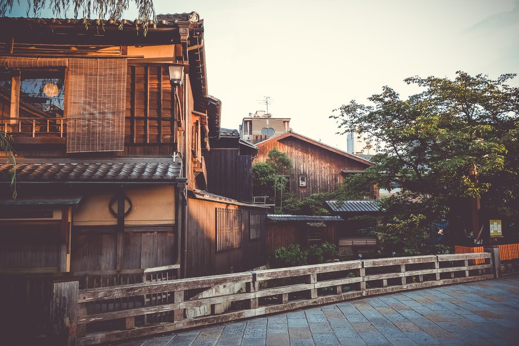 Kyoto townhouses