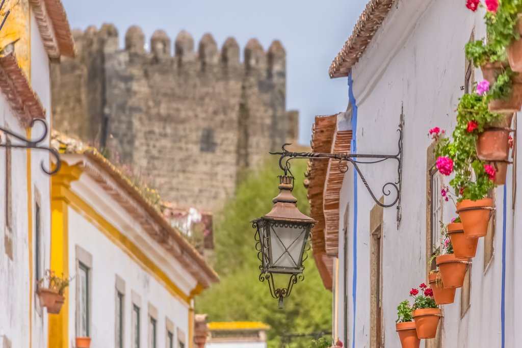 Start the day in Obidos
