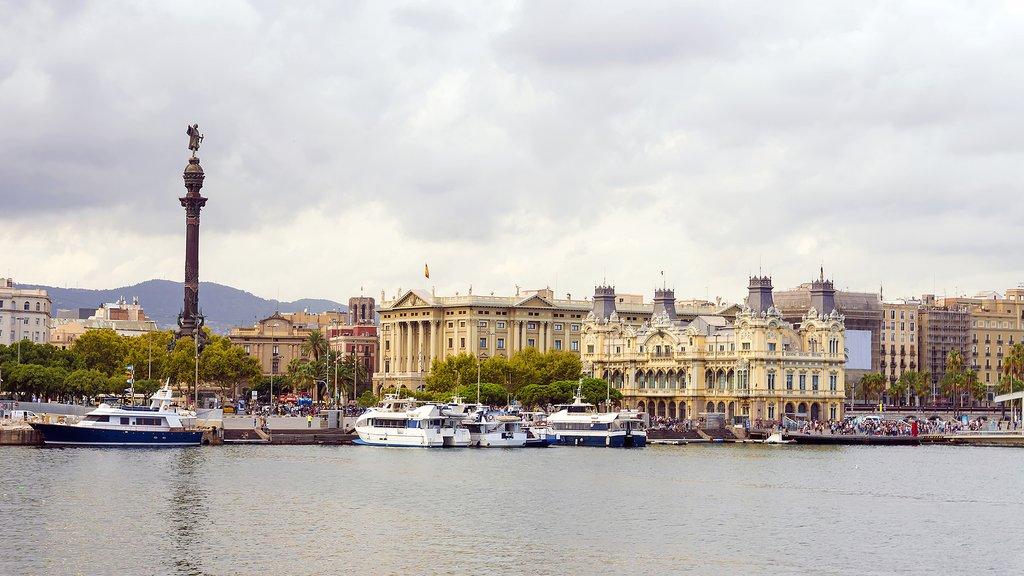 Spain - Barcelona - Las Ramblas waterfront
