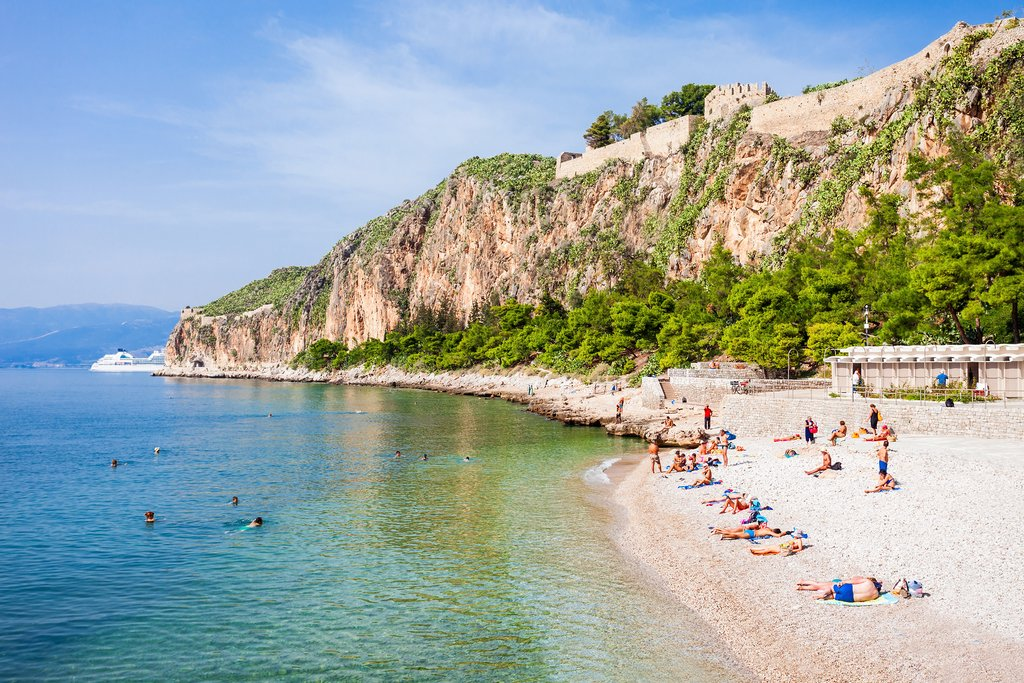 One of the Many Beaches Near Nafplio