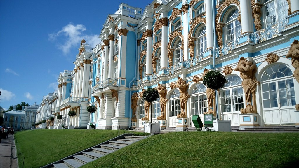 Catherine Palace in Tsarskoye Selo