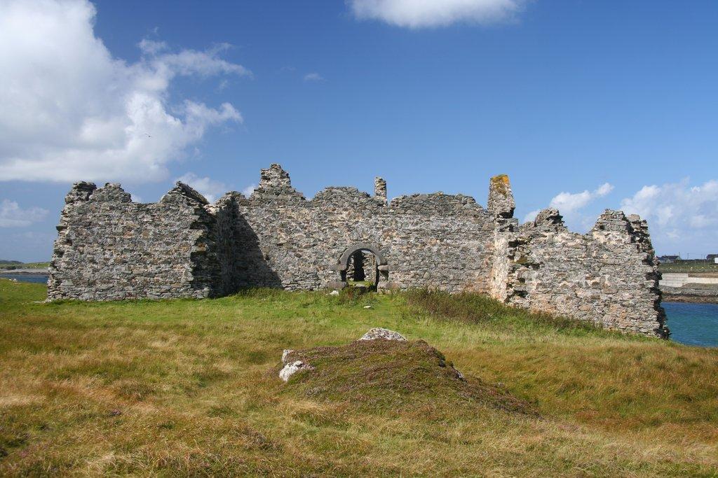 Ruins on Inishbofin Island