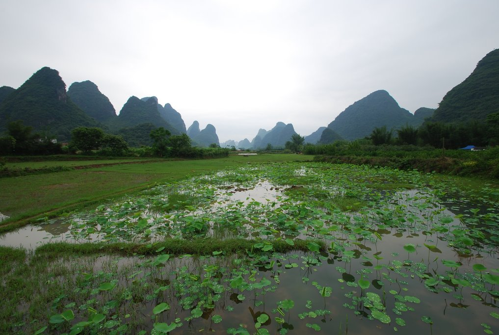 The Yangshuo countryside is one of the most beautiful in China