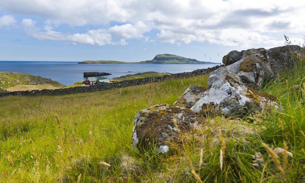 Nólsoy seen from Tórshavn