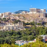 Ancient ruins in Athens