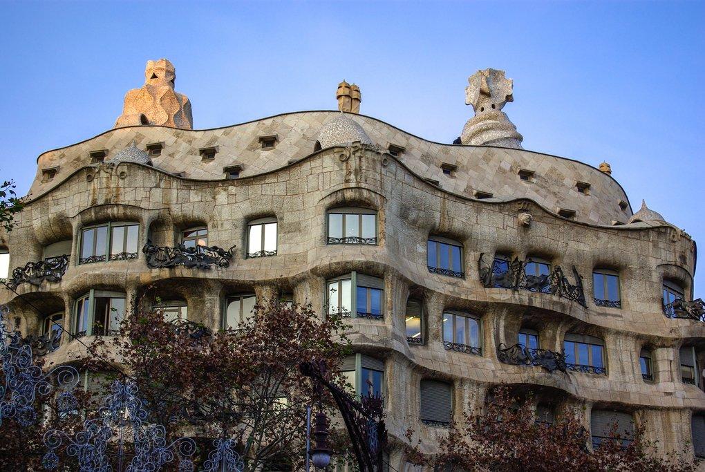 Gaudi's iconic Casa Mila