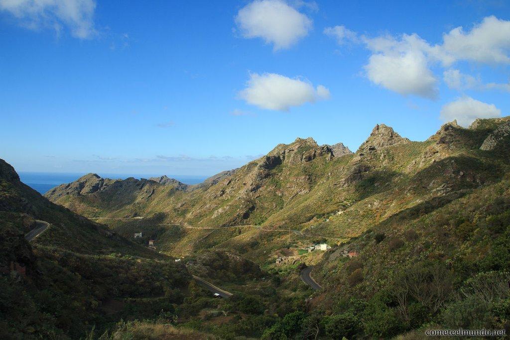 Small Hamlets in Anaga Park, Canary Islands