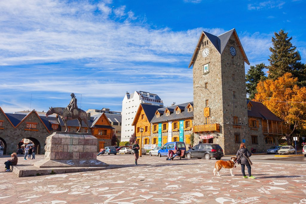 The Bariloche town center