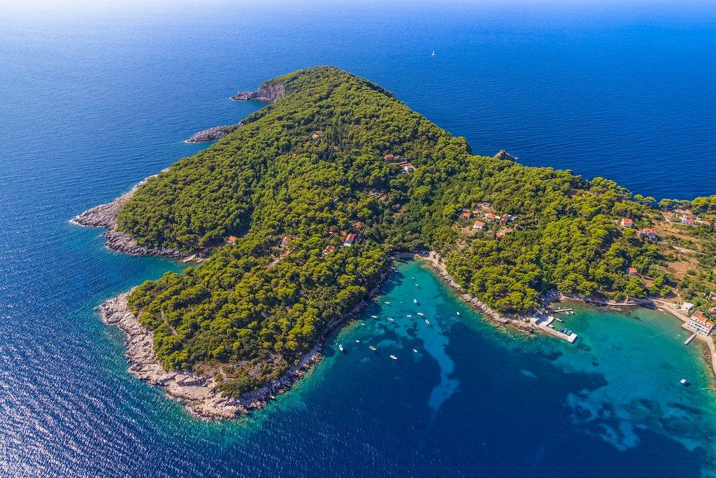 Koločep Island, Croatia