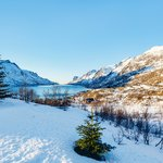 Put on some snowshoes and explore the scenery