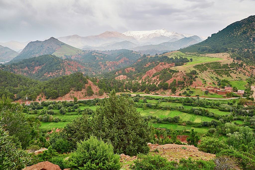 Tizi n'Tichka Pass, Morocco