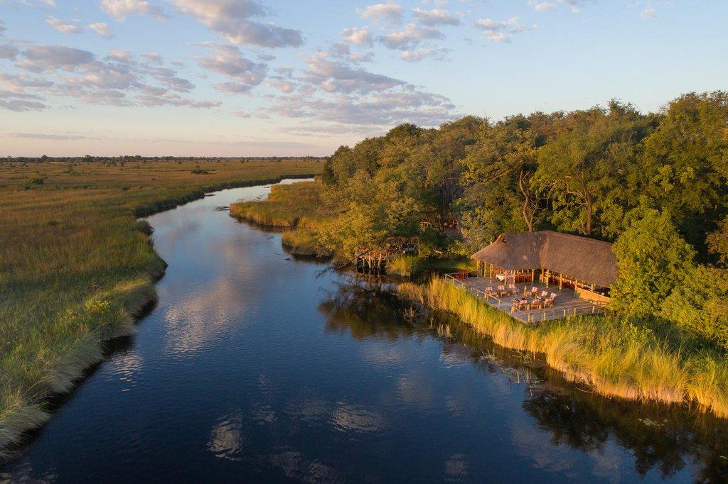 Camping in Botswana