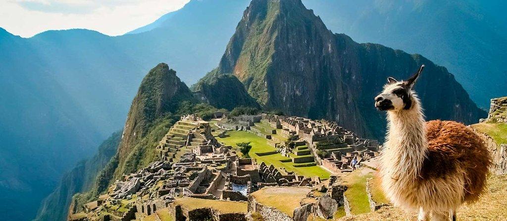 The splendid panorama unfolding at Machu Picchu