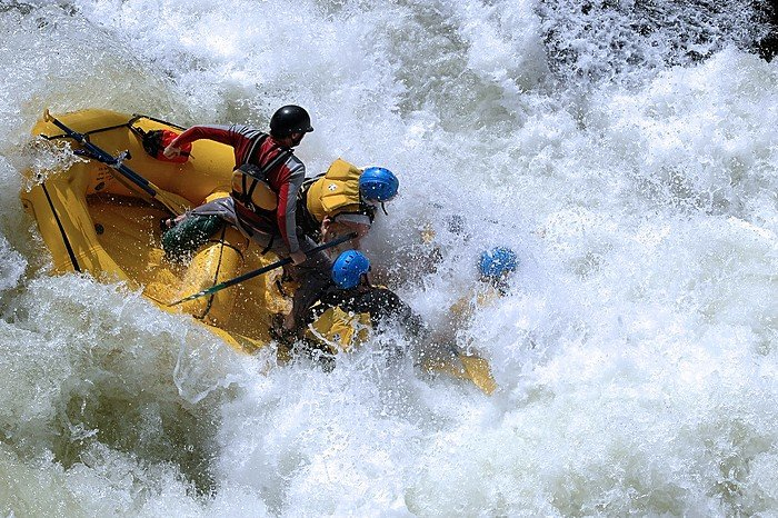 Your expert guide will coach you through the rapids