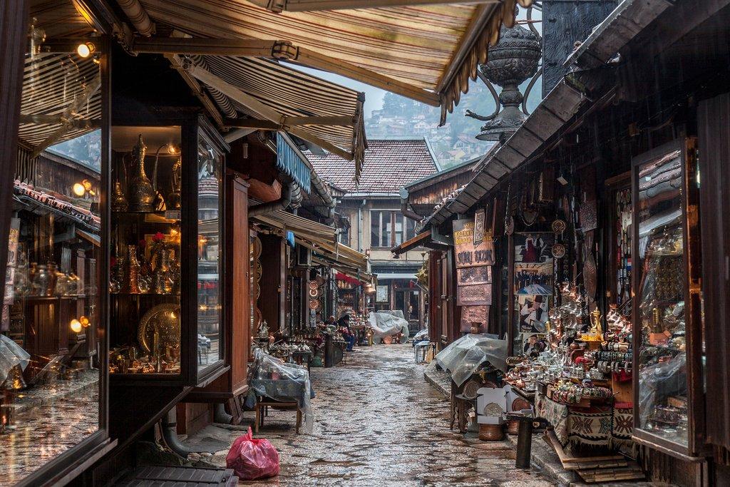Baščaršija, Sarajevo, Bosnia and Herzegovina