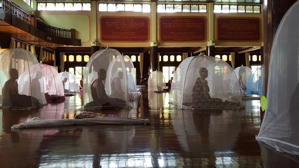 Monks at Mawlamyine