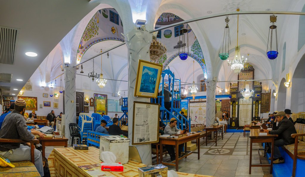 Old Abuhav synagogue in Tzfat