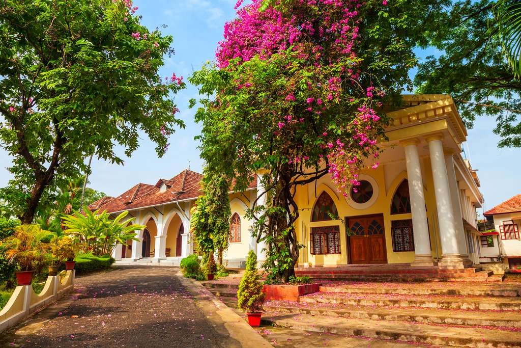 Bishop House is a museum in Fort Cochin