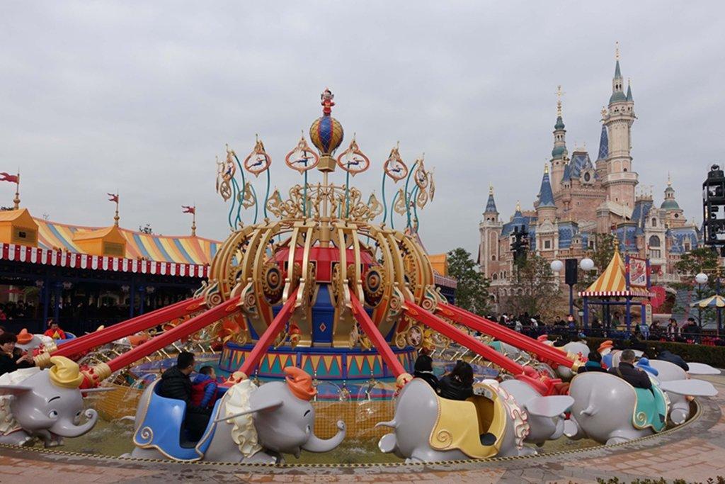 Shanghai Disneyland includes Adventure Isle, Pixar Toy Story Land, Fantasyland, Gardens of Imagination, Mickey Avenue, Tomorrowland, and Treasure Cove