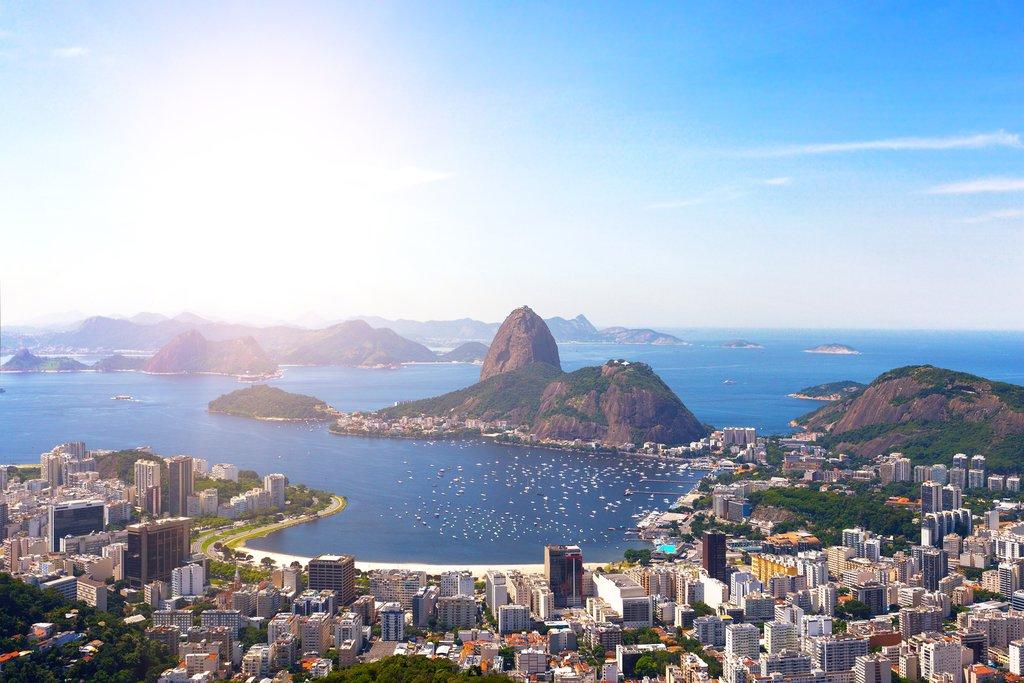 Iconic view of Rio de Janeiro