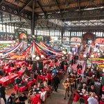 Santiago's bustling Central Market