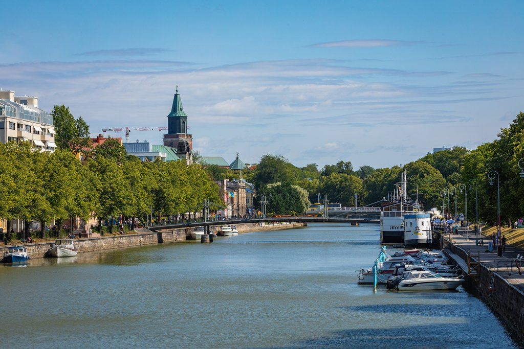 Turku's waterfront