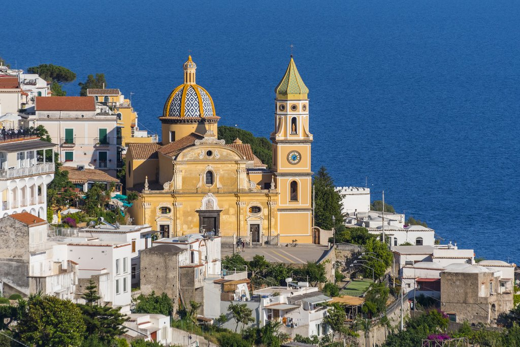 Praiano, on the Amalfi Coast