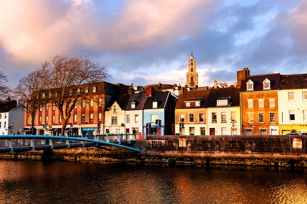 On the banks of the River Lee, Cork