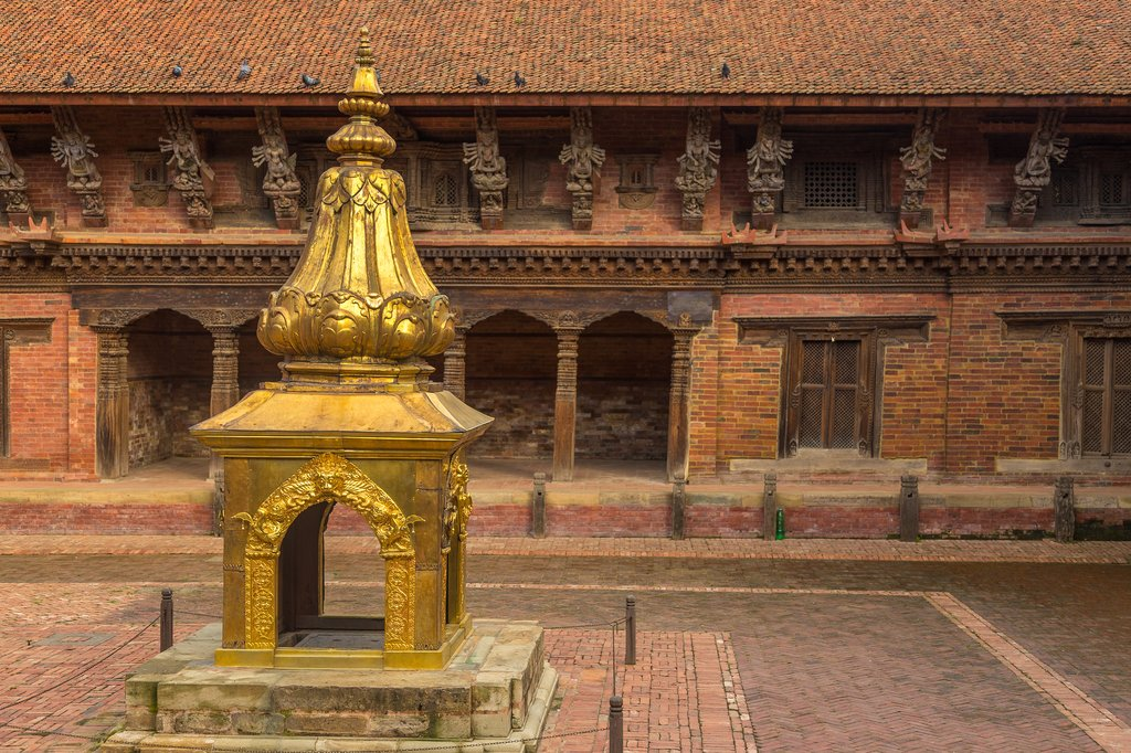 Details of the historical Patan Durbar Square