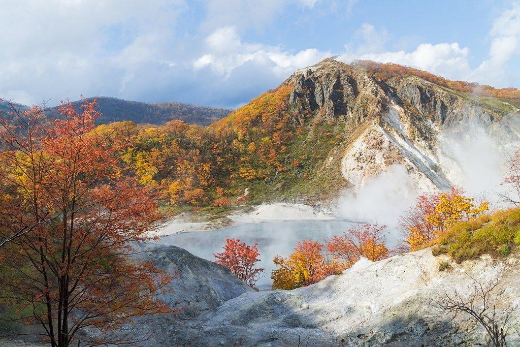 Hot springs below Jigokudani