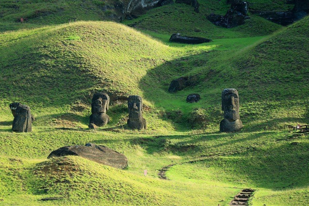Moai, Easter Island's literal figureheads