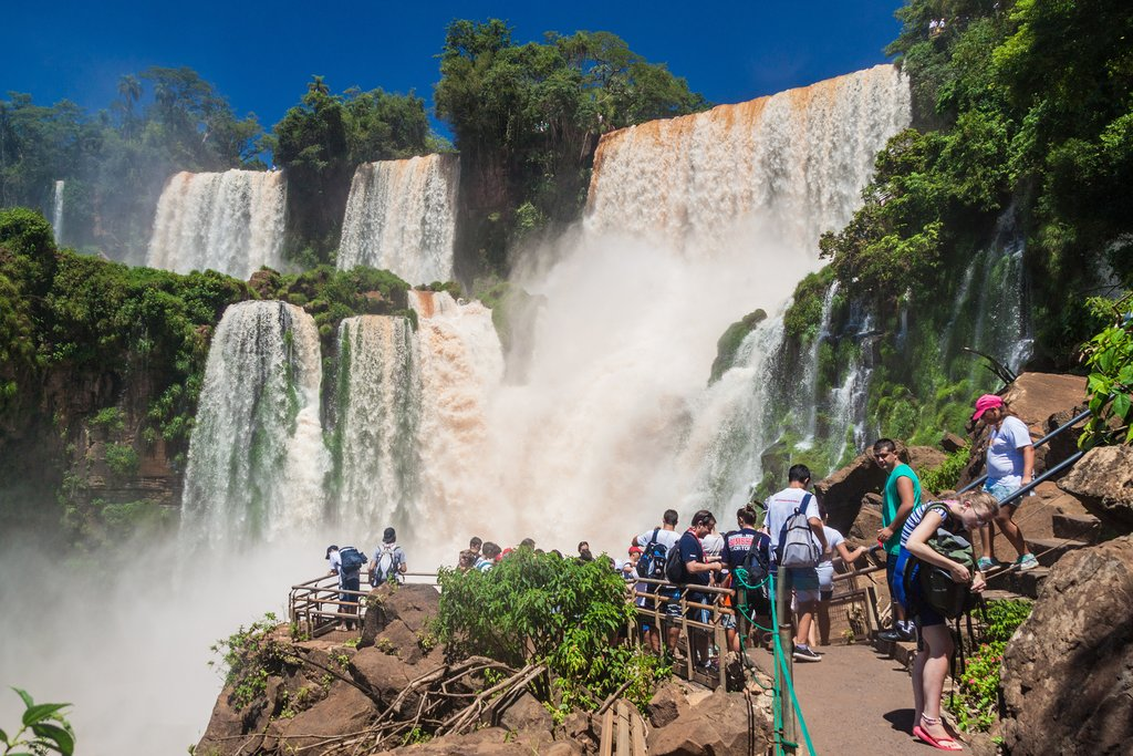 A visit to the Iguaçu Falls on the Argentinian side