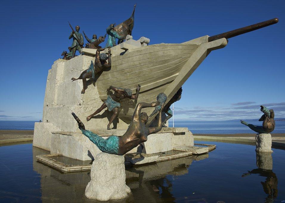 Maritime Monument in Punta Arenas