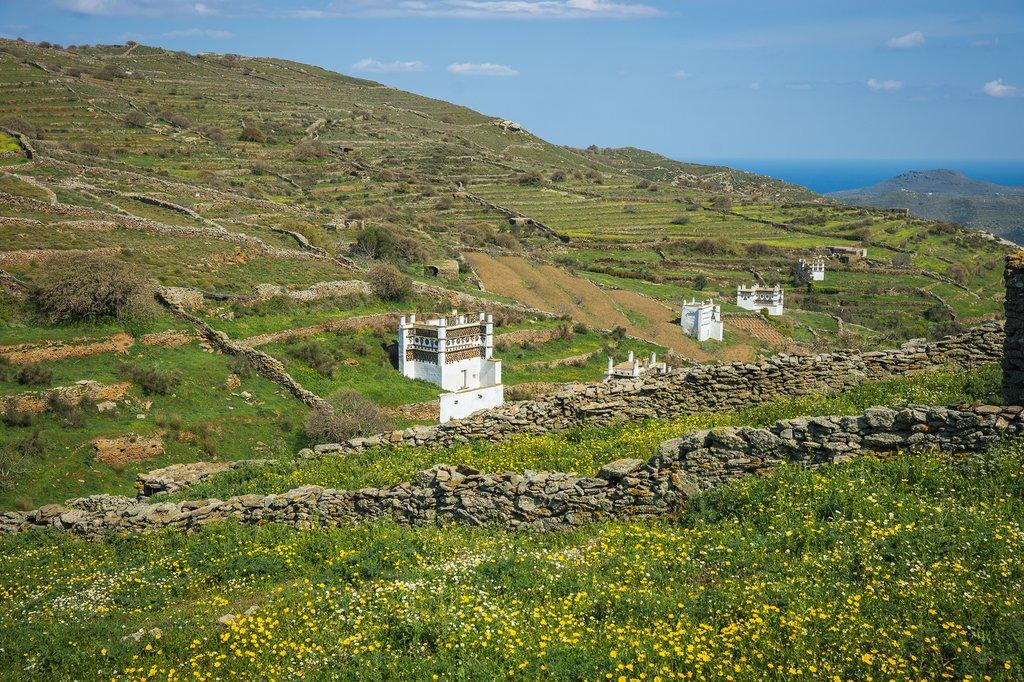 Pigeon houses on Tinos