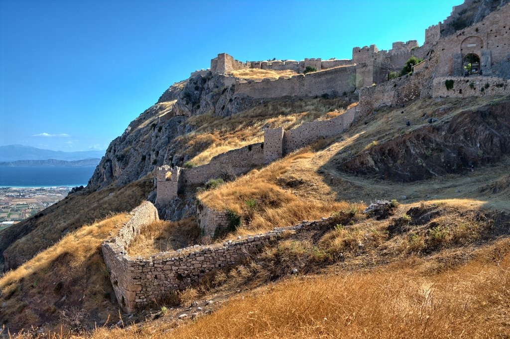 Acrocorinth aerial views