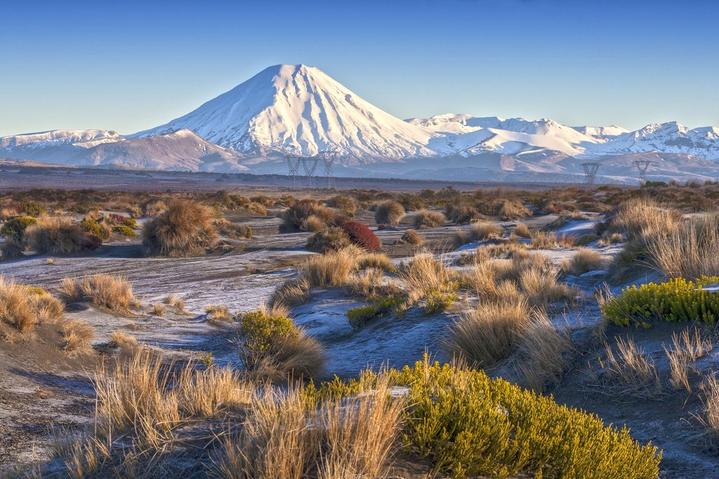 Mount Ngauruhoe and the Rangipo Desert, Tongariro National Park