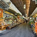 The main market hall