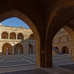 Interior of the Palace of the Grand Master of the Knights